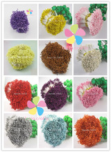 576pcs 1mm multi colors options flower stamen floral cake decoration Double heads 11010105(576)(China)