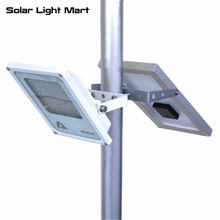 Mini Alpha 600X Outdoor Waterproof 3 Power Modes 5M Cable Automatic Solar Powered LED Pole Light Lithium Battery(China)