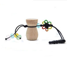 New Air Freshener Hot Mobile phone chain Wooden Bottle Diffuser Hanging Fashion Perfume