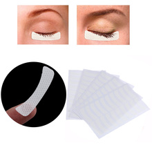 100 Pcs/Pack White Eye Eyelash Extension Fabrics Pads Stickers Patches Adhesive Tape Makeup Beauty Tool(China)