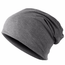 Men Women Beanie Knitted Winter Cap Solid Color Hip-hop Slouch hats skullies chapeu feminino,gorras sombrero mujer,turban