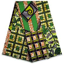 Free shipping 2016 porpular design veritable wax hollandais guaranteed dutch super wax hollandais African fabric!Q36NL6