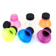 Retail 6Pcs /1 Set Tops Snap On Pop Soda Can Creative Bottle Caps Especially Reusable Practical Cool wholesale(China)