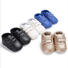 Emmababy Fashion Casual Fancy Toddler Newborn Baby Boy Girl Soft Sole Shoes Leather Sneakers Pram Trainers 0-18M(China)