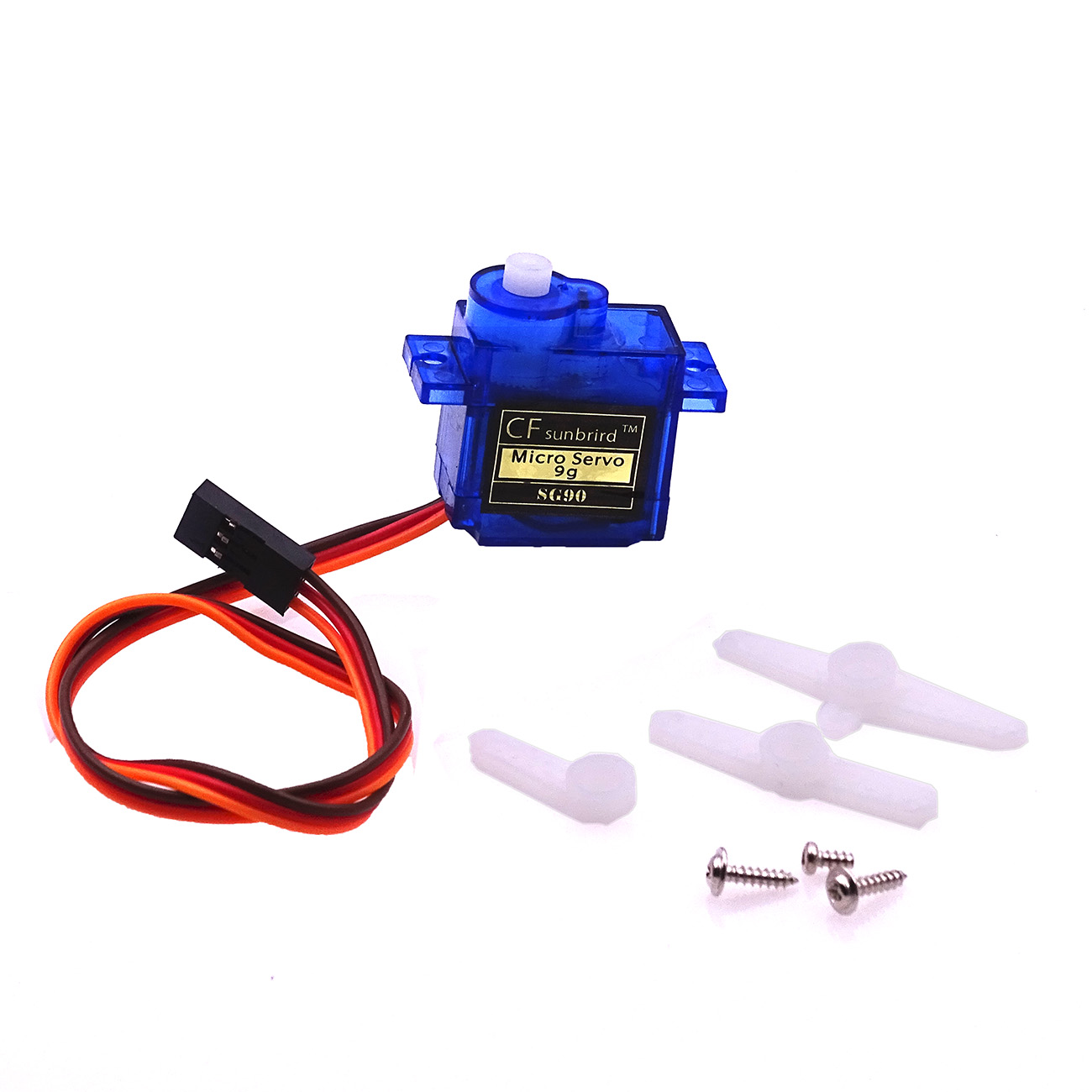 1PCS 9G SG90 Mini Micro Servo For RC Robot Helicopter Airplane Car Boat Blue