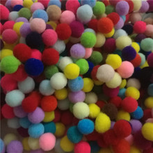 Buy 400Pcs 10mm Multi Option Pompoms Soft Pom Poms Balls DIY Home Garden Wedding Decoration Flowers Accessories Wreaths Garment for $1.36 in AliExpress store