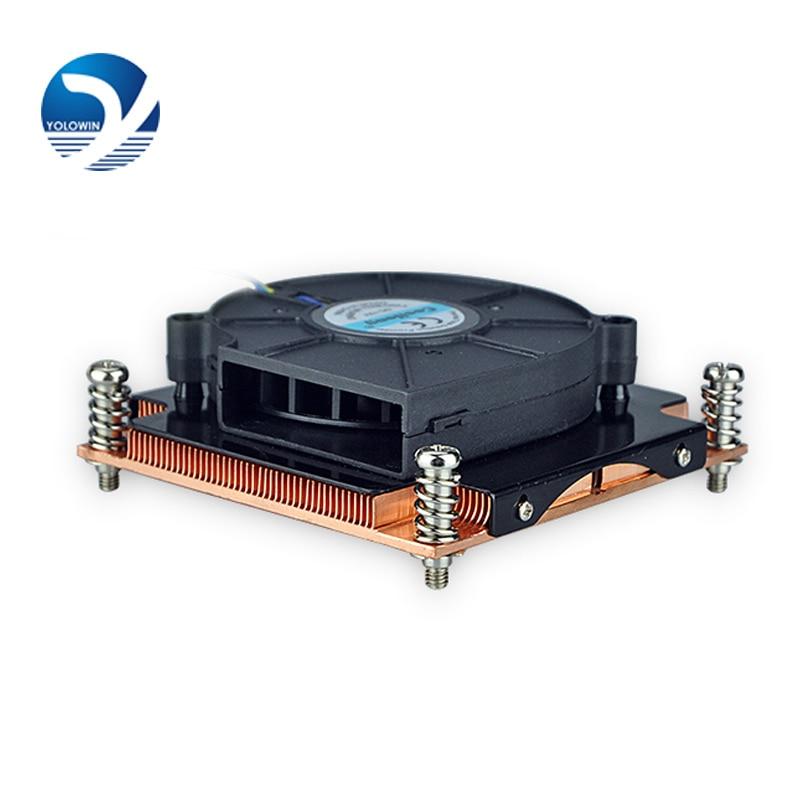 Server Computer Copper Radiator cooler cooling heatsink for intel LGA 2011 Active cooling D8-01<br>