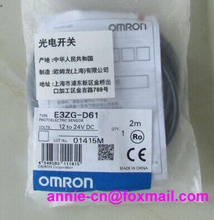 New and original  E3ZG-D61,  E3ZG-D62  OMRON  Photoelectric switch   Photoelectric sensor    2M   12-24VDC