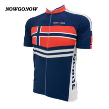 MEN cycling jersey 2017 NORWAY flag darkblue bike wear national team Mountain new road clothing outdoor riding racing NOWGONOW