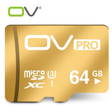 OV Micro SD Cards PRO SDHC SDXC UHS-I U3 16GB 32GB 64GB Memory Cards Class3 HD 3D 4K Video Microsd Card For Cellphone Tablet(China)