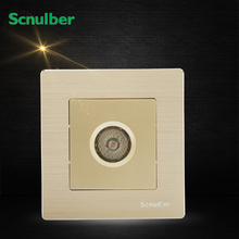 86mm metal panel voice control acoustic light activated delay wall switch