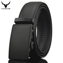 Business Belts For Men Ceinture Luxury Genuine Leather Belt Buckle Wide Belt Fashion Jeans Men Brand Pants Strap 130cm Q170(China)
