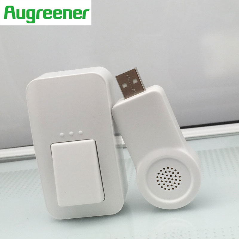 2017 Newe Arrivval  DIY No Battery Need USB Wireless Doorbell Waterproof Home Cordless Remote LED light Electric Doorbells<br><br>Aliexpress