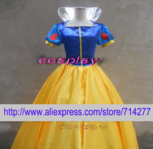 Free shipping Custom Cheap princess Snow White Costume from Snow White and the Seven Dwarfs