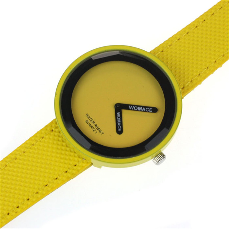 New Design Hot 2016 Unisex Women Men Luxury Leisure Sport Quartz Wrist Watch Clock 8 Color  Watches Quartz Analog Clock<br><br>Aliexpress