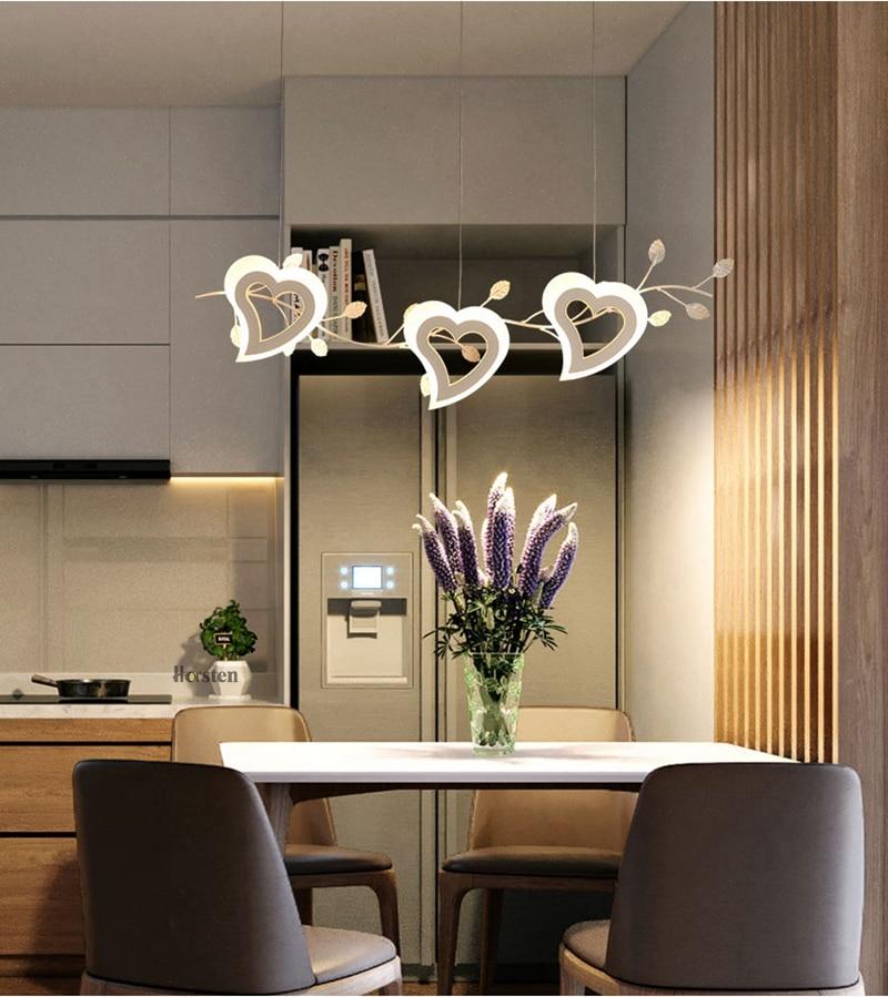 Romantic Love Heart LED Pendant Lights (15)