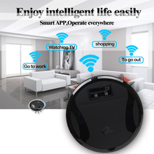 WiFi Wet & Dry Robot Vacuum Cleaner home floor Washing Wet Clean FM01C vacuum for home Free shipping