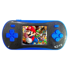 High quality children's Handheld Video Game Player 2.5 Inch 16 Bit Game Console Built In 260 classic Games gamepad game console(China)