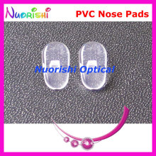 PV42  glasses eyewear eyeglasses pvc nose pads 10mm Screw-in type  glasses accessories free shipping