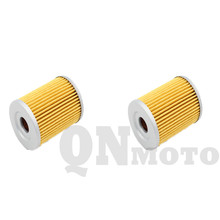 2 Pcs Motorcycle Oil Filter For SYM Scooter 400i Max Sym  2011 2012 2013 Paper and Metal