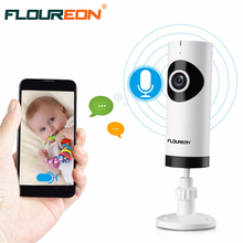 Floureon HD P2P MINI WIFI Security IP Camera Baby Monitor Wireless Fisheye Home Security Surveillance CCTV IP Camera