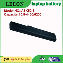 Factory price and best quality 6cells laptop battery for X42 X42J A52 A52F A52JK K52 K52F K52J K52JB K52JE K52JK K52JR K52XI X52