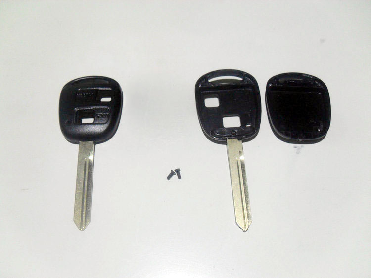 2 Buttons toyota remote key shell  TOY47  (5)11