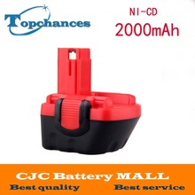 12V 2000mAh BATTERY NI-CD For BOSCH GSR GLI 12V AHS GSB GSR PSR 12 12VE BAT043 BAT045 BAT046 BAT049 BAT120 BAT139(China)