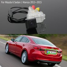 For Mazda 6 Mazda6 / Atenza 2013~2015 / Reversing Back up Camera / Car Parking Camera / Rear View Camera / HD CCD Night Vision