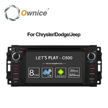 Ownice C500 Android 6.0 Octa Core car dvd player for Jeep grand wrangler 2015 patriot compass journey gps navi radio 4G LTE SIM(China)