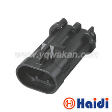 Free shipping 5sets 2pin male Delphi Ford fan plug electronic fan plug headlamp plug power ABS pump Connector 12147060(China)