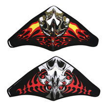 Cycling Face Mask Outdoor Riding Skiing Mask Warm Windproof Creative 3D Skull Pattern Breathable Bicycle Bike Mask 2 Style