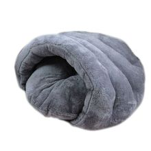 Special Offer New Dog Bed Warm Pet Cat Nest House Sleeping Bag Cozy Winter Cave Cushion Bed(China)