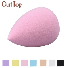 Tsw Top Quality New 1pcs Women Pro Beauty Flawless Water Drop Shape Makeup Blender Soft Foundation Puff Comestic Sponge 170413B
