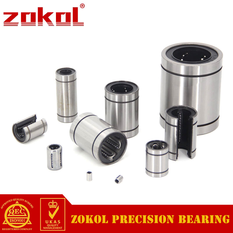 ZOKOL bearing LM35LGA.Steel Cage.Lengthened Type linear motion bearing 35*52*135mm<br>
