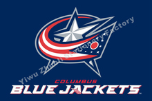 Columbus Blue Jackets Flag NHL National Hockey League 3ft X 5ft Polyester Banner Flying 150* 90cm Custom Flag Sport Helmet CBJ1