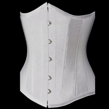 Vintage White Lace Up Waist Trainer Tummy Control Women Waist Bodycon Corsets Cincher Slimming Body Shaper Costumes Girdles 6XL
