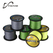 Multicolor 500M 4X Braided Fishing Line, 0.1 0.13 0.17 0.23 0.32 0.4mm 8 10 20 30 40 60LB Super Strong Japan PE Fish Line