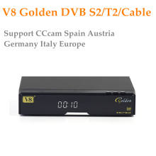 Openbox V8 Golden Support 1 Year CCcam USB WiFi DVB-S2+T2+Cable CCCAM Europe Cline Server IPTV Youporn Satellite Receiver TV Box