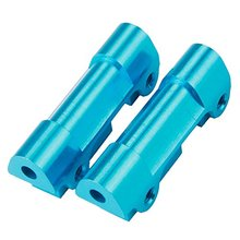 512006 Blue Aluminum Alloy Front & Rear Suspension Fixed Mount for FS RC 1:10 Big Truck Casters Model Car Upgrade(China)
