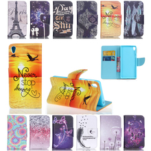 for sony xperia e5 case cover fine Magnetic pu Leather wallet Stand cover Case For sony xperia e5 mobile phone Cases coque