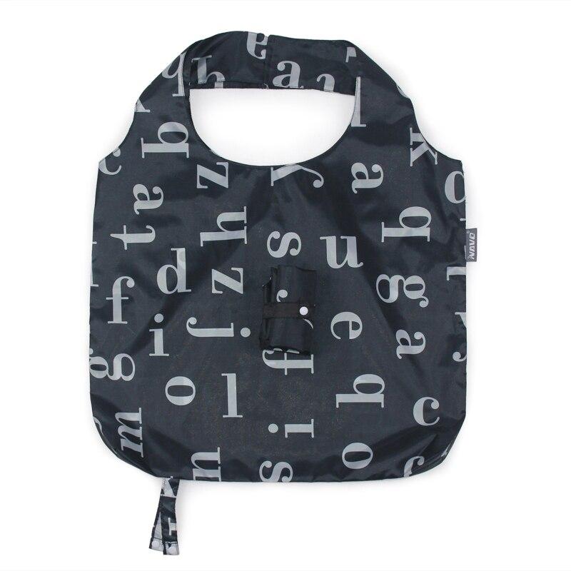 NAVO Folding Shopping Bag 45x65cm Large Big Shopper Resuable Shopping Grocery Bag for Supermarket Sac Shopping Reutilisable SP-CJ03DL190ABC (5)