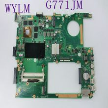 Buy G771JM Laptop Motherboard ASUS G771 G771JM Mainboard i7-4700 HM86 GTX 860M 4GB GDDR5 fully tested free for $315.90 in AliExpress store