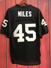 EJ Boobie Miles #45 Friday Night Lights Football Jersey Permian BLACK(China)