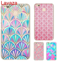 Lavaza Morocco Art Deco Tile Map Diamond scales Hard Transparent Case Cover for Xiaomi Redmi 4x(China)