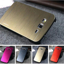 Luxury Brushed Metal Aluminium + PC material back cover Shell For Samsung Galaxy Core 2 Duos SM-G355H G3559 G355 phone case