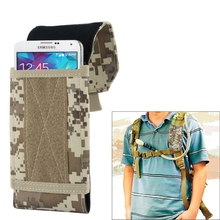 Universal Stylish Outdoor Water Resistant Fabric Cell Mobile Phone Bag Case, Size: approx. 17cm x 8.3cm x 3.5cm(China)