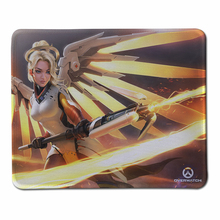 Beautiful Mercy Mouse Pad Computer Mousepad Overwatch Large Gaming Mouse Mats To Mouse Gamer Anime Rectangular Mouse Pad