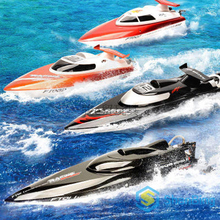 Buy New Fei Lun FT011 2.4G Racing RC Boat High Speed Brushless Motor Water Cooling System 4Channels Speedboat Christmas Gift for $149.84 in AliExpress store