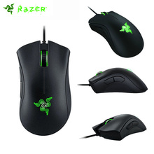 Razer DeathAdder Optical sensor Mouse 16000/10000/6400/3500DPI Razer Original Gaming Mouse, With Original Box